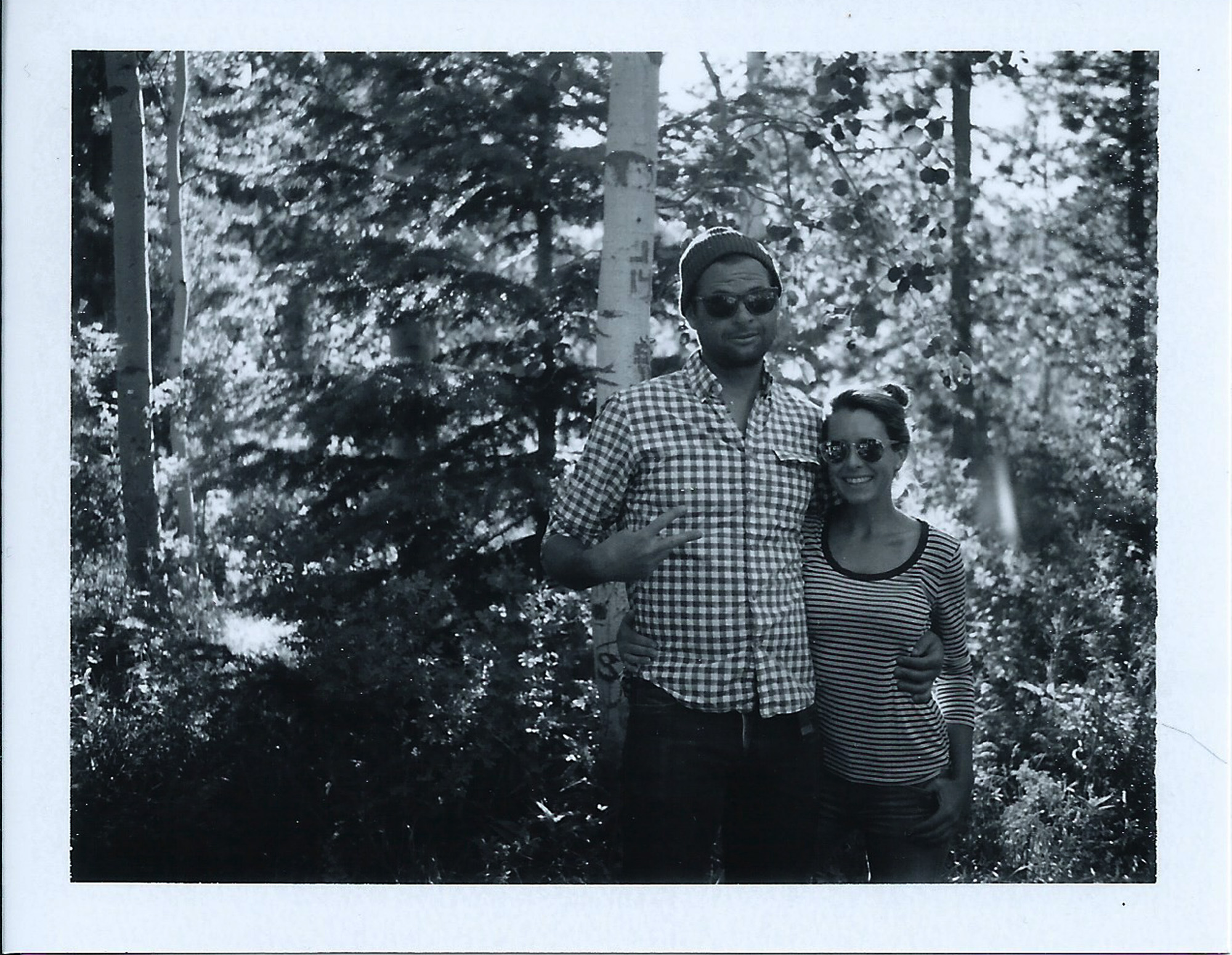 Moon lake polaroid